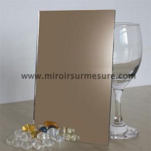 Miroir bronze couleur