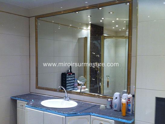 miroir de salle de bain encastre dans niche professionnel du miroir sur mesure verre sur. Black Bedroom Furniture Sets. Home Design Ideas