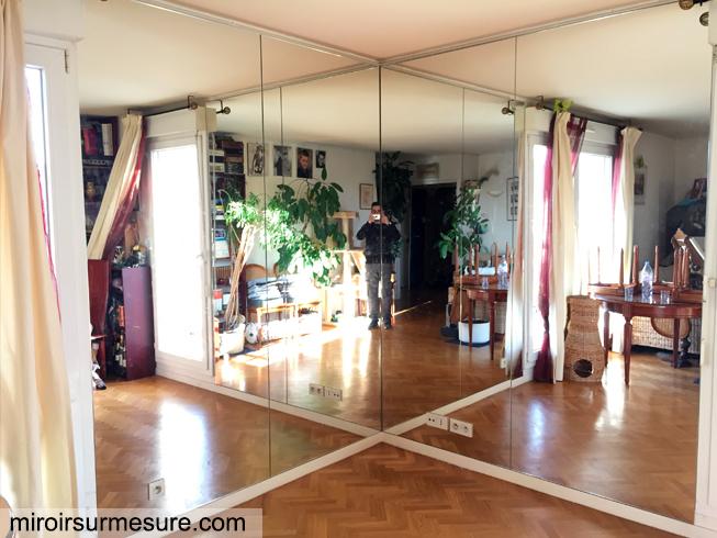 Mur Miroir Sur Mesure Devis Gratuit 01 43 64 73 97