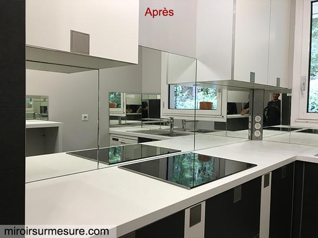 Credence Miroir Sur Mesure Pour Votre Cuisine Miroirsurmesure Com